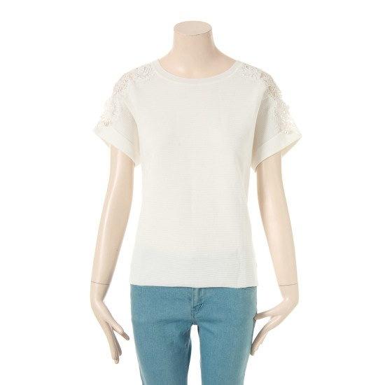 レニボンミューズニットシャツRTM462291 ニット/セーター/ニット/韓国ファッション