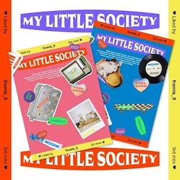 【当店追加特典2点セット】【KIT+CD2種】FROMIS_9 - MY LITTLE SOCIETY (3RD ミニアルバム)//初回限定ポスター付き/cd/アルバム/フォトカード