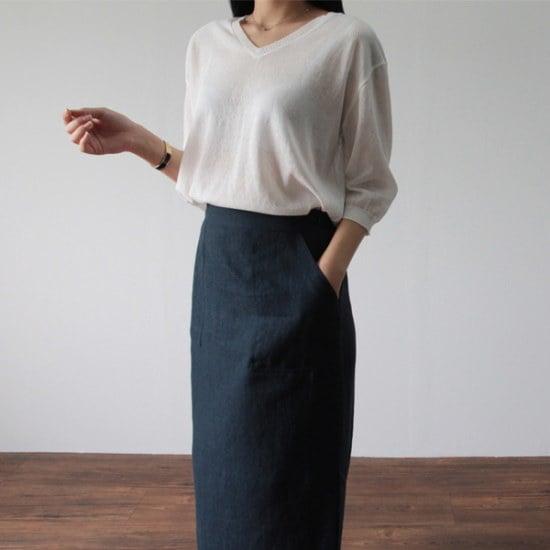 ラベルルームであれ、ニート ニット/セーター/ニット/韓国ファッション