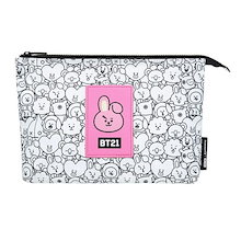 BTS (防彈少年團) x BT21 MONOPOLY Official BT21 Mesh Pouch