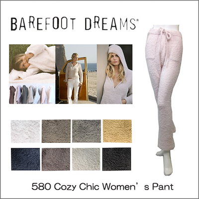 ベアフットドリームス Barefoot Dreams コージーシックパンツ レディース 580