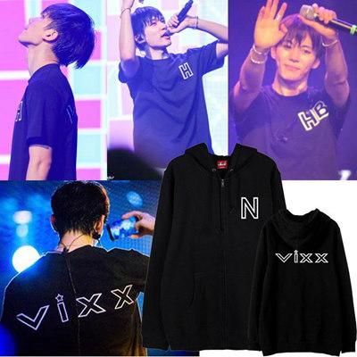 new arrival★vixx/同型パーカー/長袖シャツ/運動服/N/Leo/Ken/Ravi/Hong Bin/Hyuk