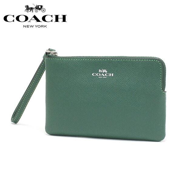 コーチ ポーチ レディース COACH Pouch シャムロック 58032 SVQRJ 【送料無料♪】