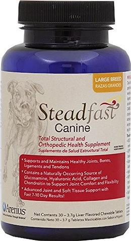 (犬 ヘルスケア) Steadfast Canine Joint  Soft Tissue Supplement - Small / Large Breed