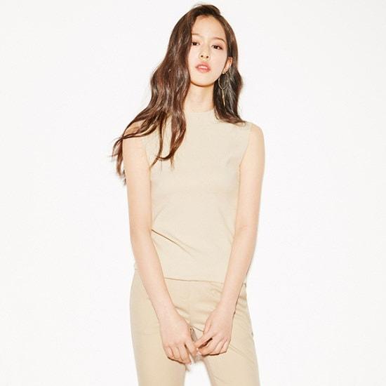 ナインNAINスルリブリスニートT3557 ニット/セーター/韓国ファッション