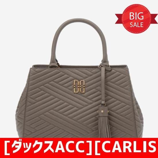 [ダックスACC][CARLISLE]ベージュの皮トートバックDCBA7F354I3 トートバッグ / 韓国ファッション / Tote bags
