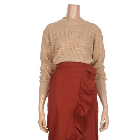 オチョクバンハイネクベーシックデイリー・ニートK6513204 ニット/セーター/韓国ファッション