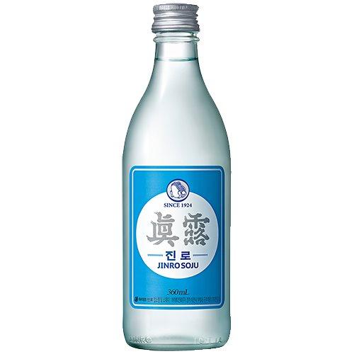 眞露 is back 360ml 16.9% イズ バック 韓国 食品 食材 料理 お酒 業務用 焼酎 甲類 JINRO リキュール ソジュ