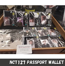 NCT127 PASSPORT WALLET「NCT127 Regular irregular GOODS」