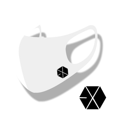 EXO MASK マスク[ STRETCH ANTIBACTERIAL 3D MASK ] 洗濯可能 HYOSUNG [カラーマスク]