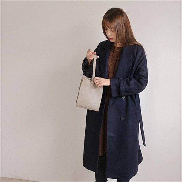 ベラコート 女性のコート/ 韓国ファッション/ジャケット/秋冬/レディース/ハーフ/ロング/