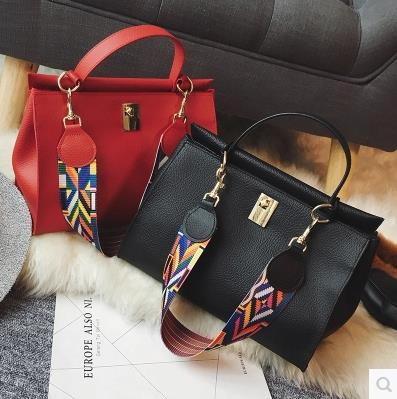 韓国ファッション ★★新しいアイテム♥♥スタイリッシュなカジュアルバッグ♥ショルダーバッグ♥♥ファッション バッグ リュック/トートバッグ/通勤バッグ♥♥ トートバッグ ロック