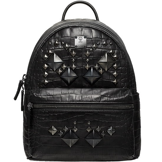 ★【MCM 正規品】★SS15 SPECIAL STARK SMALL BACKPACK★MMK5SVE94BK★【EMS無料発送】★