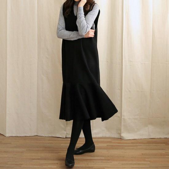 ビナインアデルラフルウォンピス 綿ワンピース/ 韓国ファッション