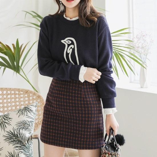 ロロテンリコーニットティー ニット/セーター/ニット/韓国ファッション