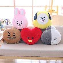 BTS 防弾少年団クッションBT21 ぬいぐるみ VAN/RJ/KOYA/SHOOKY/MANG/CHIMMY/TATA/COOKY クッション 人形  おもちゃ 抱き枕