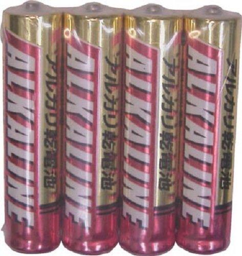 三菱電機 アルカリ乾電池単4形4本パック LR03R4S