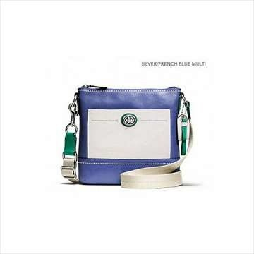コーチ 49493 COACH Park Colorblock Leather Swingpack