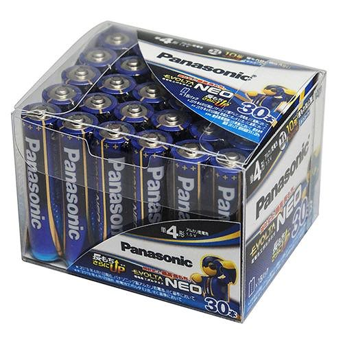 エボルタNEO アルカリ乾電池 単4形 30本パック LR03NJ/30SH