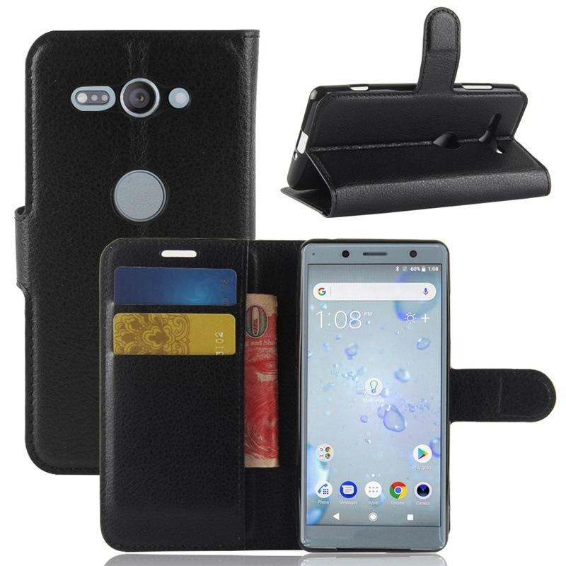 ソニー Sony Xperia XZ2 Compactケース/カバー docomo SO-05K良質PUレザー 手帳型ケース ブックカバー スマホケース【I114】