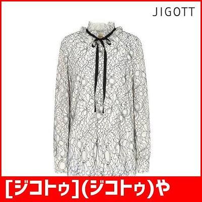 [ジコトゥ](ジコトゥ)やフリルレースリボンブラウスJI9A0BL58 /ソリ/ッドシャツ/ブラウス/ 韓国ファッション