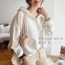 『Naning9』💗フラーディンボタンフードティー/ おしゃれなシルエットのファッションコーデー提案!ハイクォリティー/韓国ファッション