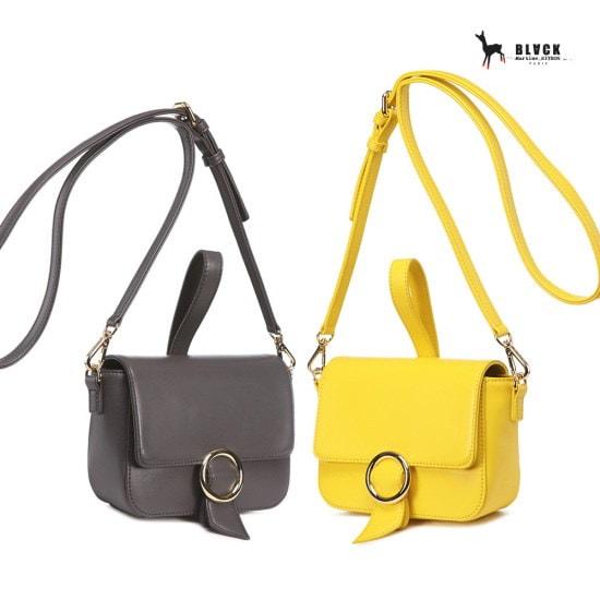 ブラック・マーティンシッボンかばんArceau Cross Mini bagGAXX218 クロスバック / 韓国ファッション