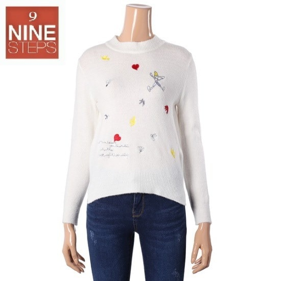ナインステップピノキオ自首ニートN17NW7501 ニット/セーター/韓国ファッション