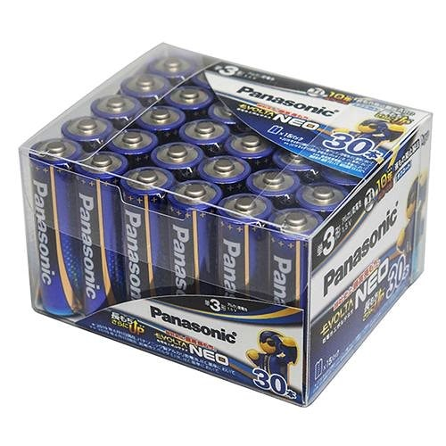 エボルタNEO アルカリ乾電池 単3形 30本パック LR6NJ/30SH