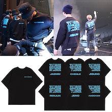NCT DREAM  コンサート  メンバー  応援   半袖 Tシャツ 服  グッズ  メンズ レディース トップス 上着 男女兼用  Tシャツ  韓国ファッション