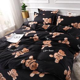 送料無料 可愛い 寝具カバー 3点セット 4点セット  布団カバー 枕カバー
