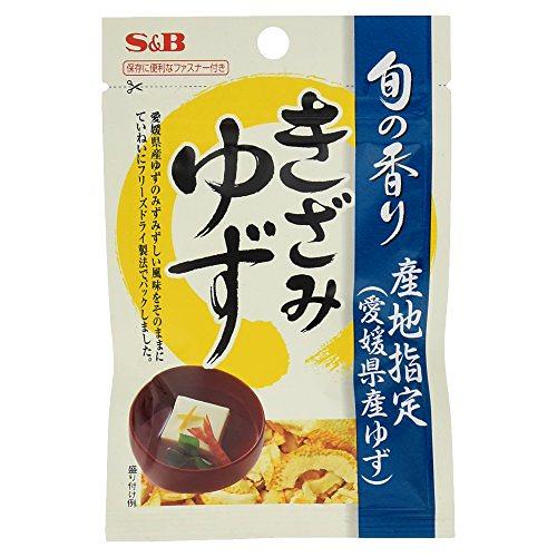 S &B 旬の香り きざみゆず 3.5g