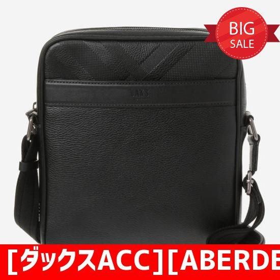 [ダックスACC][ABERDEEN】ブラックチェックエンボシングクロスバックDBBA7F518BK クロスバック/メッセンジャーバッグ/韓国バッグ/韓国ファッション