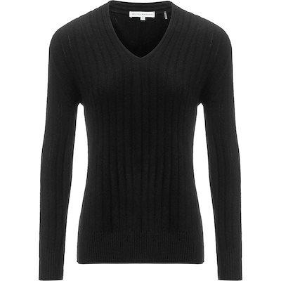 ホワイトプラスウォーレン レディース ニット・セーター アウター Plush Rib V-Neck Sweater