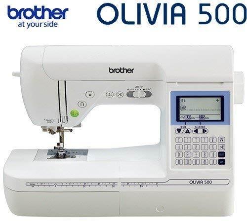 家庭用ミシン 『OLIVIA500(オリビア500) フットコントローラー付属』 CPH5301 brother ブラザー コンピューターミシン