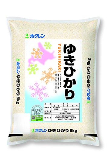 【精米】ホクレン 北海道産 ゆきひかり 5kg 令和元年産