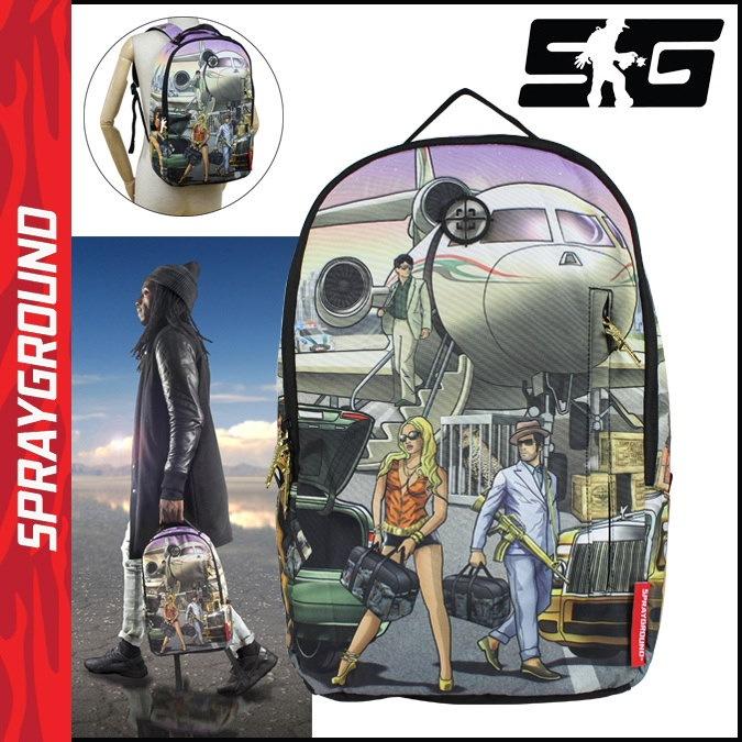 スプレーグラウンド SPRAY GROUND バックパック リュック B311 JET LIFE メンズ レディース