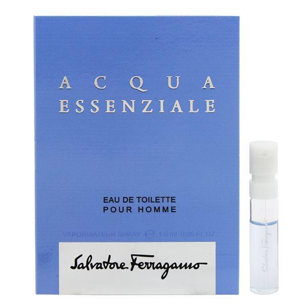 香水 FRAGRANCE フェラガモ SALVATORE FERRAGAMO ACQUA ESSENZIALE アクア エッセンツィアーレ (チューブサンプル) EDT・SP 1.5ml