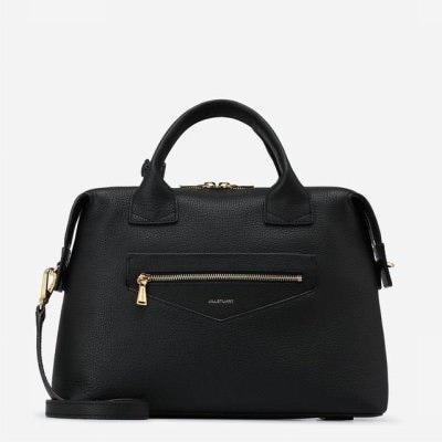 [JILLSTUART ACC] JABA7F363BK Black Zipper Tote Bag