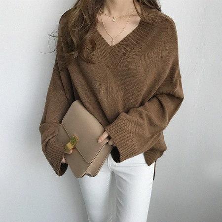 サリーオVネックニットkorean fashion style
