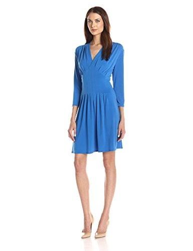 Catherine Catherine Malandrino Womens Tinka Dress - Mahi Blue, Mahi Blue, Medium
