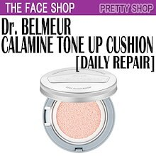 ★the face shop★[톤업쿠션] Daily Repair tone up cushion/Dr.ベルメルデイリーリペアカラミントーンアップクッション(15g)