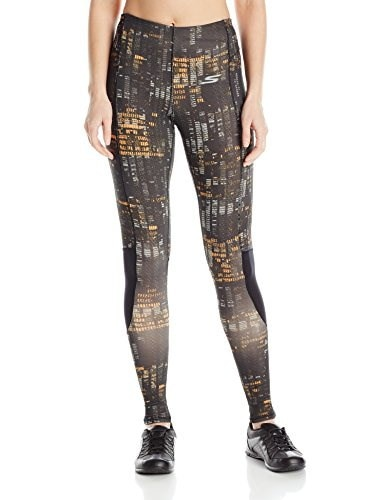 Skechers Active Womens Contemporary Tight, Digital Check Print, Medium