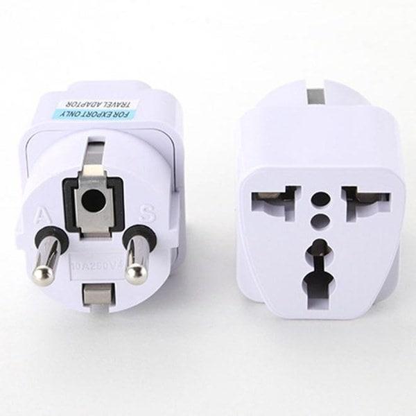 ホット!ユニバーサルUK / US / AU / EUからEU / US / UK / AUへAC電源ソケットプラグトラベル充電器アダプタコンバータ(Ada