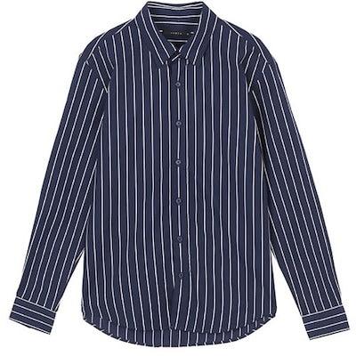 [AK公式ストア]【ANDEW] O192SH210Pレギュラー)クールマックス)ストライプシャツ