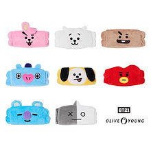 【BT21XOlive young】BT21洗顔バンド/BT21 hair band for washing face/8種