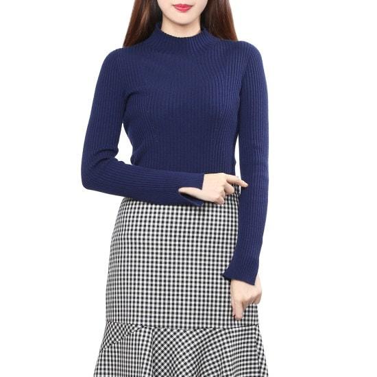 シスレーシンプルなゴルジニートSAKP80761 ニット/セーター/韓国ファッション