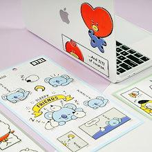 KPOP GOODS BTS 防弾少年団 【BT21 x LINE 公式 ライセンス】 マルチデコステッカー Multi deco stickers