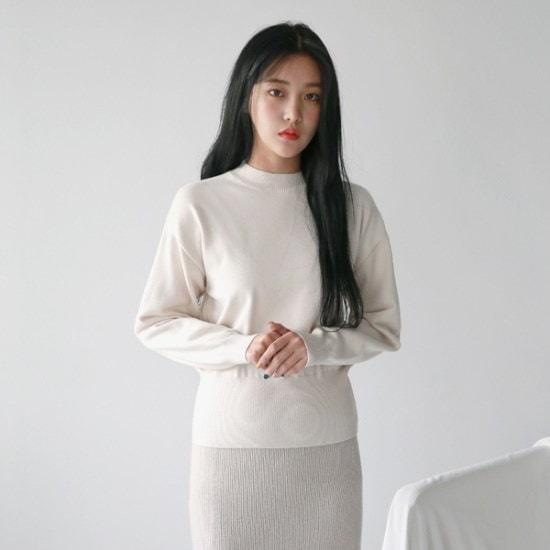 デイリー・マンデーEveryday simple modal knitニート ニット/セーター/ニット/韓国ファッション