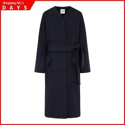 [お転婆]ノカラ・ベルテッド・ラジアル・コート9108411054 /ロングコート/コート/韓国ファッション